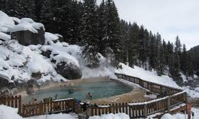 Granite Hot Springs near Jackson Hole