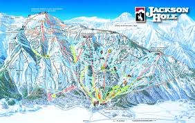 Image showing map of Jackson Hole
