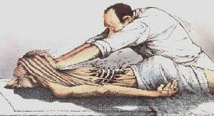 Image showing deep tissue massage